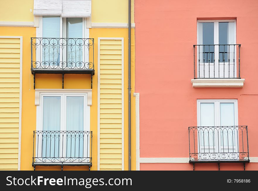 Spanish facades no.1