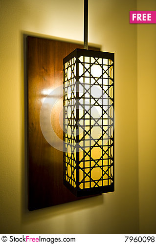Free Decorative Lamp Shade Royalty Free Stock Photos - 7960098