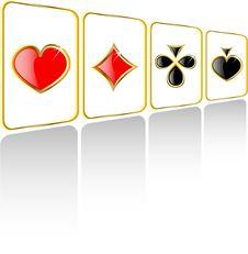 Free Vector Play Card Set Stock Image - 7961171