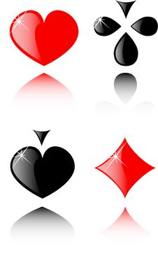 Free Vector Play Card Set Stock Photography - 7961172