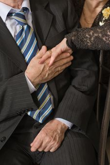 Free Elderly Married Couple. Stock Photography - 7961422