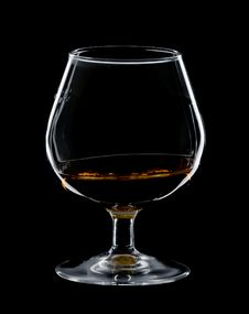 Free Glass Of Cognac Royalty Free Stock Photography - 7961527