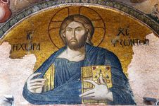 Free Mosaic Of Jesus Christ Stock Photography - 7961542