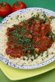 Free Rice With Tomato Sauce Stock Images - 7962234