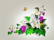 Free Holiday Businessman Royalty Free Stock Photo - 7962315