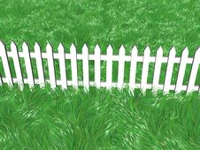 Free Fence On A Summers Day Stock Photography - 7962382