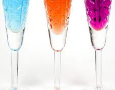 Free Three Wineglass Stock Images - 7962414