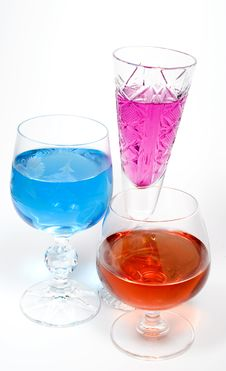 Free Three Wineglass Stock Image - 7962431