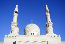Free Jumeirah Mosque Stock Photography - 7962462