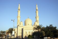 Free Jumeirah Mosque In Dubai Stock Image - 7962791