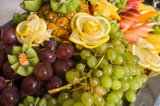Free Dish With A Fruit Dessert. Royalty Free Stock Photos - 7962978