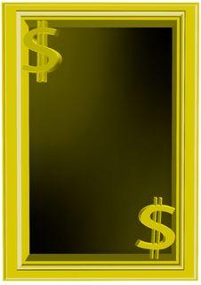 Free Us Dollar Frame Royalty Free Stock Images - 7962999
