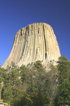 Free Devils Tower National Monument, Wyoming Stock Images - 7963214