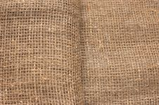 Ecological Material: Sackcloth Stock Images