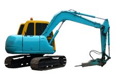 Free Mechanical Digger Stock Photo - 7963450