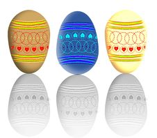 Free Easter Eggs Stock Photo - 7963460