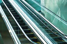Free Escalators Stock Image - 7963471
