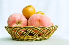 Free Fruit In Basket Royalty Free Stock Photo - 7963525