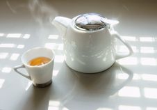 Free Tea And Tea Set Royalty Free Stock Photography - 7963937