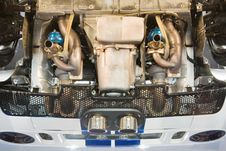 Free Car Engine From Below Stock Photo - 7964810