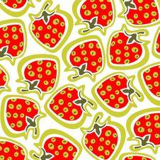Free Strawberry Background Stock Photography - 7965202