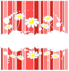 Free Striped Floral Background Royalty Free Stock Photos - 7965208