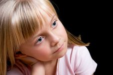 Free Blond Girl Stock Photo - 7965460