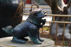 Cuprum Lion Stock Photography