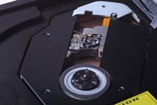 Free DVD Optical Drive. Royalty Free Stock Photos - 7966388