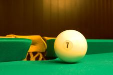 Balls For Game In The Russian Billiards Royalty Free Stock Photo