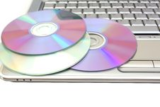 Free Disk On Laptop Stock Photos - 7966533