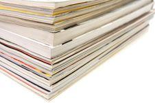 Free Stack Of Magazines Royalty Free Stock Photo - 7966695