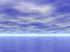 Sea And Sky View Stock Images