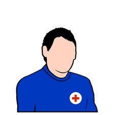 Free Red Cross Rescure Face Avatar Stock Image - 7967631