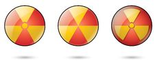 Free Nuclear Web Icons Stock Photos - 7967653
