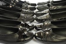 Free Black Shoes Royalty Free Stock Photography - 7967767
