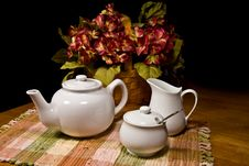 Free Having Morning Tea Royalty Free Stock Images - 7967969