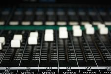 Free Musical Mixer Royalty Free Stock Photo - 7968025