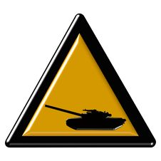 Free Tan Warning Sign Stock Photo - 7968650