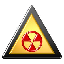 Free Radioactive Sign Stock Photography - 7968662
