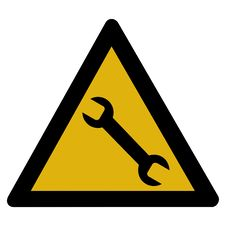 Free Mechanic Sign Royalty Free Stock Photography - 7968697