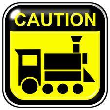 Free Caution - Locomotive Stock Photography - 7968772