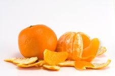 Free Two Mandarine Royalty Free Stock Image - 7968916