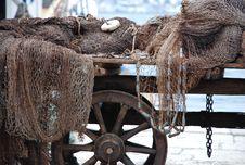 Free Fishing Nets Royalty Free Stock Photos - 7969518