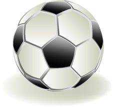 Free SoccerBall3d Stock Image - 7969801