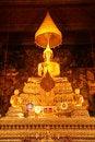 Free The Principal Buddha Image Of Wat Pho Royalty Free Stock Photos - 7972608