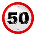 Free Speed Limit Sign Stock Photo - 7978230