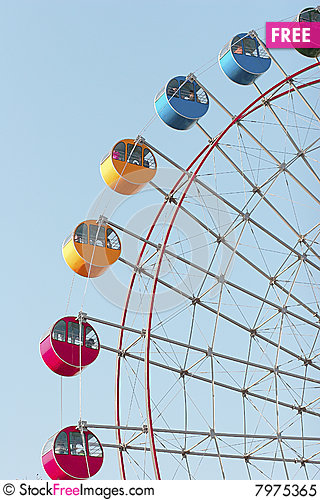Giant Wheel 1 Stock Photo