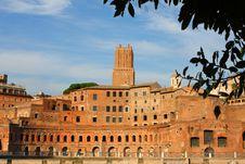 Free Ancient Trajan S Market Stock Photos - 7970143