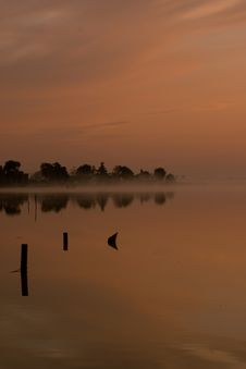 Free Pink Misty Dawn Stock Images - 7970354